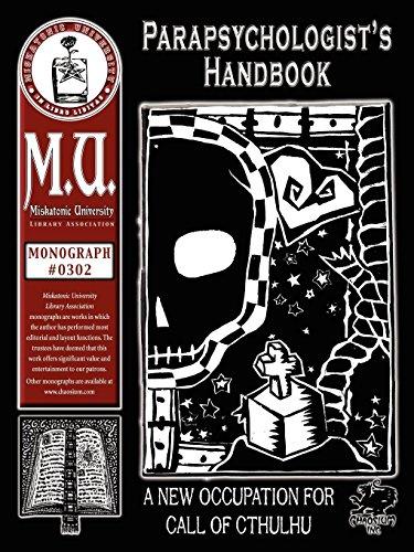 9781568822273: Parapsychologist's Handbook (M.U. Library Assn. monograph, Call of Cthulhu #0302)