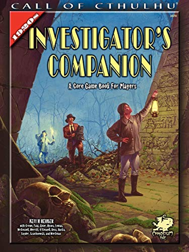 9781568822808: 1920s Investigator Companion (Call of Cthulhu Roleplaying)