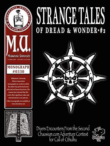 Strange Tales of Dread & Wonder #2: R. J. Christensen