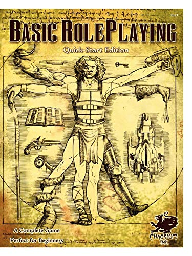Basic Roleplaying 2nd Edition, Quick-Start Edition (Basic Roleplaying - Core & Assorted): Jason...