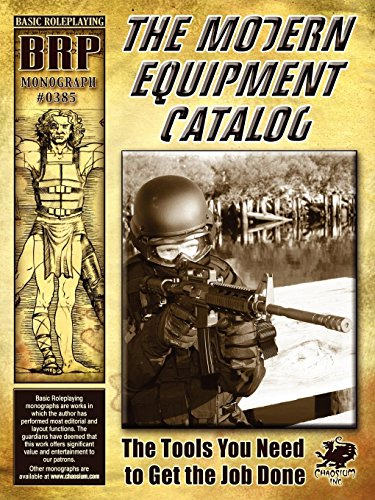The Modern Equipment Catalog (Basic Roleplaying Monograph #0385): Domenic de Bechi
