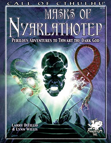 9781568823294: Masks of Nyarlathotep: Perilous Adventures to Thwart the Dark God (Call of Cthulhu roleplaying)
