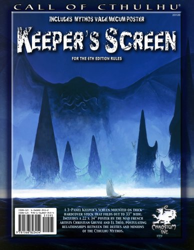 9781568823454: Call of Cthulhu Keeper's Screen (for 6th edition)