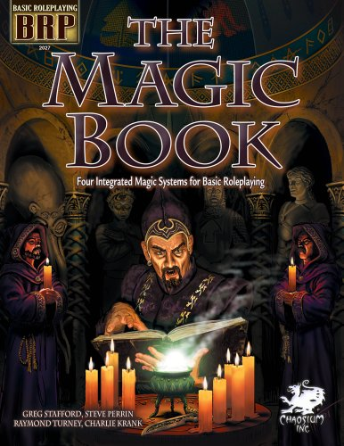 9781568823560: The Magic Book: Four Integrated Magic Systems for Basic Roleplaying