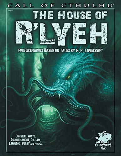 9781568823645: The House of Rlyeh: Five Scenarios Based on Tales of H.P. Lovecraft (Call of Cthulhu)