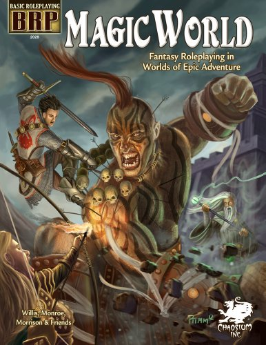 9781568823652: Magic World: Fantasy Roleplaying in Worlds of Epic Adventure (Basic Roleplaying system)