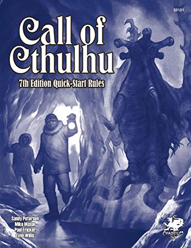 9781568823881: Call of Cthulhu 7th Ed. QuickStart