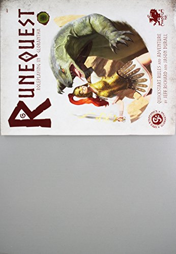 Runequest: Roleplaying in Glorantha Quick Start: Durall, Jason