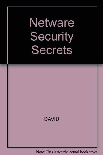 9781568840215: Network Security Secrets (Network World Technical Books/Book and Disks)