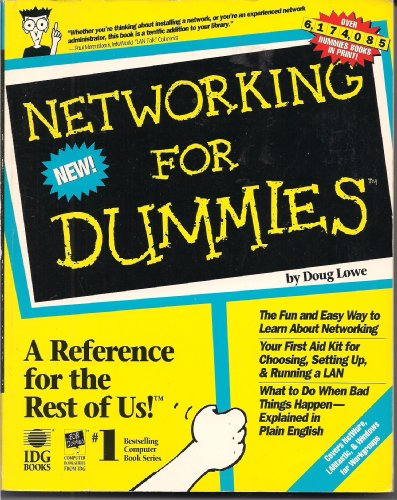 9781568840796: Networking for Dummies (1st Edition)