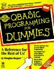 Qbasic Programming for Dummies: Hergert, Douglas
