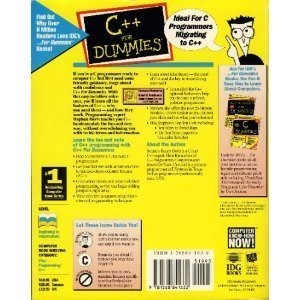9781568841632: C++ for Dummies (For Dummies Computer Book Series)