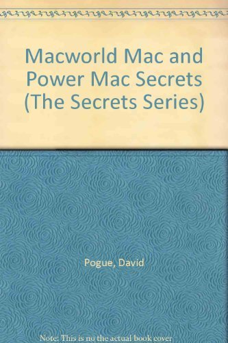 9781568841755: Macworld Mac & Power Mac Secrets/Book and 3 Disks (The Secrets Series)