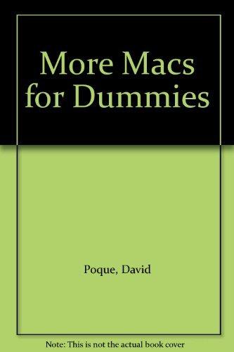 9781568842394: Macs for Dummies