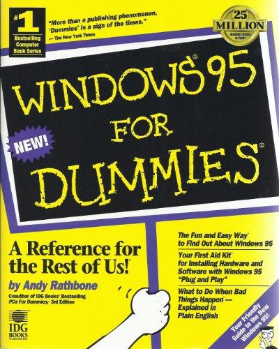 9781568842400: Windows 95 for Dummies