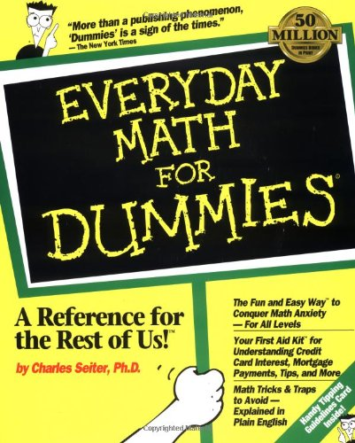 9781568842486: Everyday Math for Dummies (USA version)