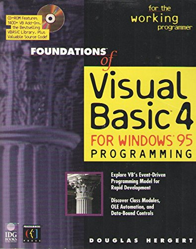 Foundations of Visual Basic 4 Programming: DOUGLAS