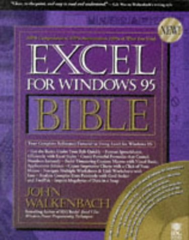 9781568844954: Excel for Windows 95 (Bible)