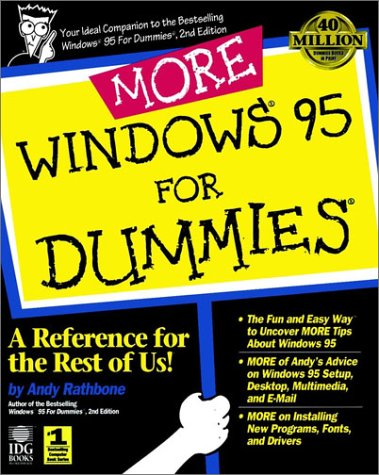 9781568846071: More Windows 95 For Dummies (Serial)