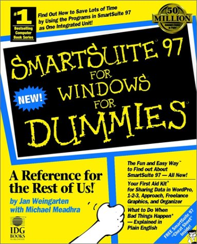 9781568846101: Smartsuite 97 for Windows for Dummies