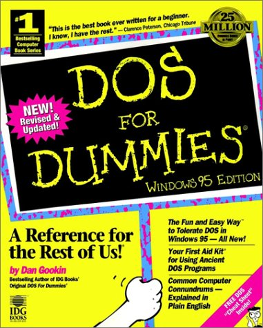 DOS For Dummies Windows 95 Edition (1568846460) by Dan Gookin
