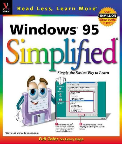 9781568846620: Windows 95 Simplified (Idg's 3-D Visual)