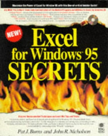 Excel for Windows 95 Secrets: Pat Burns