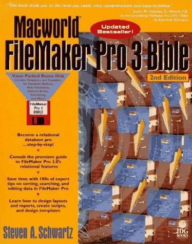 9781568847283: Macworld Filemaker Pro 3 Bible