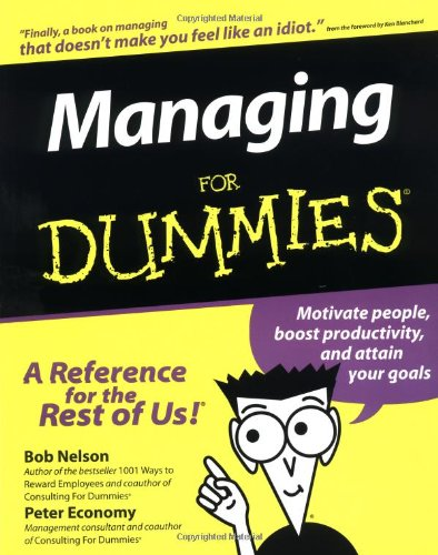 9781568848587: Managing for Dummies