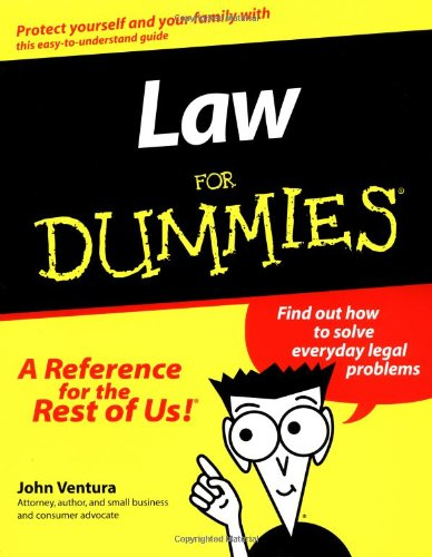 9781568848600: Law For Dummies? (For Dummies (Lifestyles Paperback))