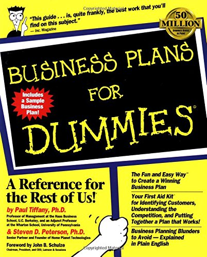 business plan for dummies Business plan in 1 day click below to get started i need my business plan for: funding strategy both funding & strategy.