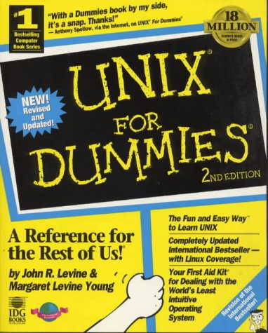 9781568849058: UNIX for Dummies (TRANS/DUM)