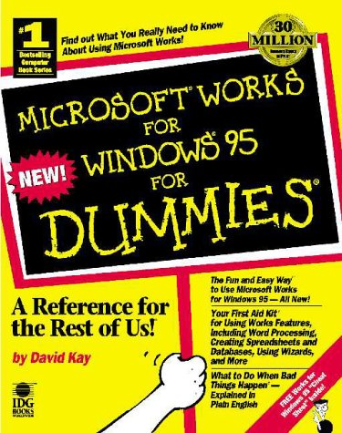 9781568849447: Microsoft Works for Windows 95 for Dummies