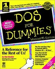 9781568849942: DOS for Dummies, Windows 95 Edition