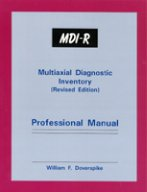 9781568870519: MDI-R, Multiaxial Diagnostic Inventory (Revised: Professional Manual