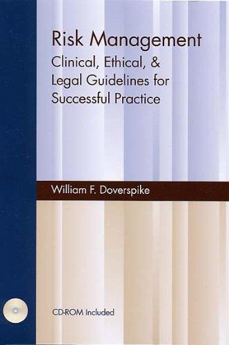 9781568871080: Risk Management: Clinical, Ethical, & Legal Guidelines for Successful Practice