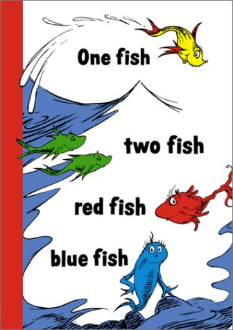 9781568901022: One Fish, Two Fish Blank Journal