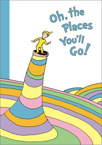 9781568901213: Oh, The Places You'll Go Blank Journal