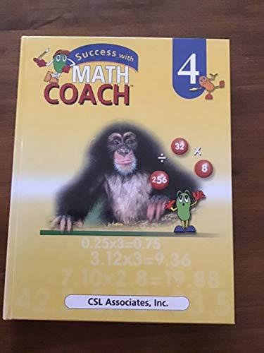9781568921143: Success with Math Coach Grade 4