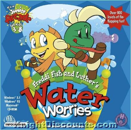 9781568933573: Freddi Fish and Luther's Water Worries