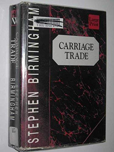 9781568950273: Carriage Trade