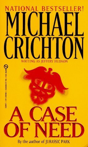 9781568950525: A Case of Need (Wheeler Softcover)