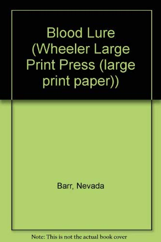 9781568951898: Blood Lure (Wheeler Large Print Book Series)