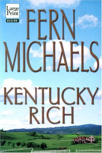 9781568951959: Large Print Press - Kentucky Rich