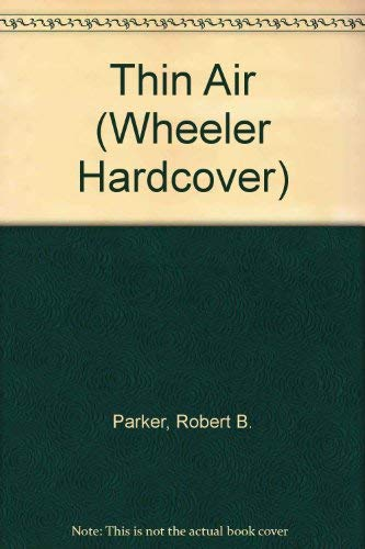 9781568952123: Thin Air (Wheeler Hardcover)
