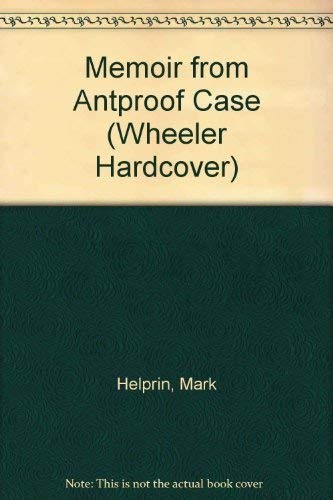 9781568952567: Memoir from Antproof Case
