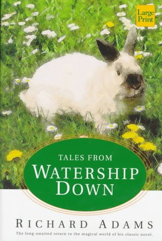9781568954493: Tales from Watership down (Wheeler Large Print Book Series)
