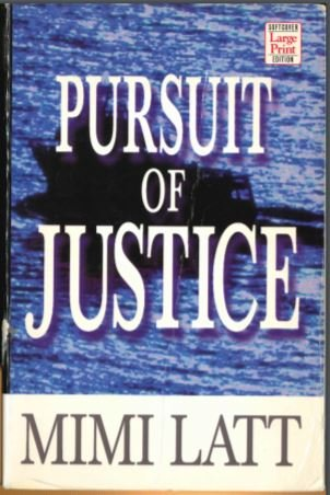 9781568955896: Pursuit of Justice (Large Print)