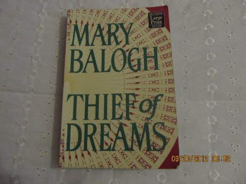 Thief of Dreams (1568957173) by Mary Balogh