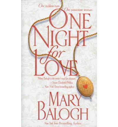 One Night for Love (1568957955) by Balogh, Mary